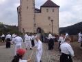 Vor der Burg Trausnitz 2015
