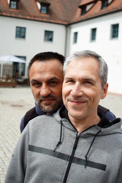Andreas und Jochen