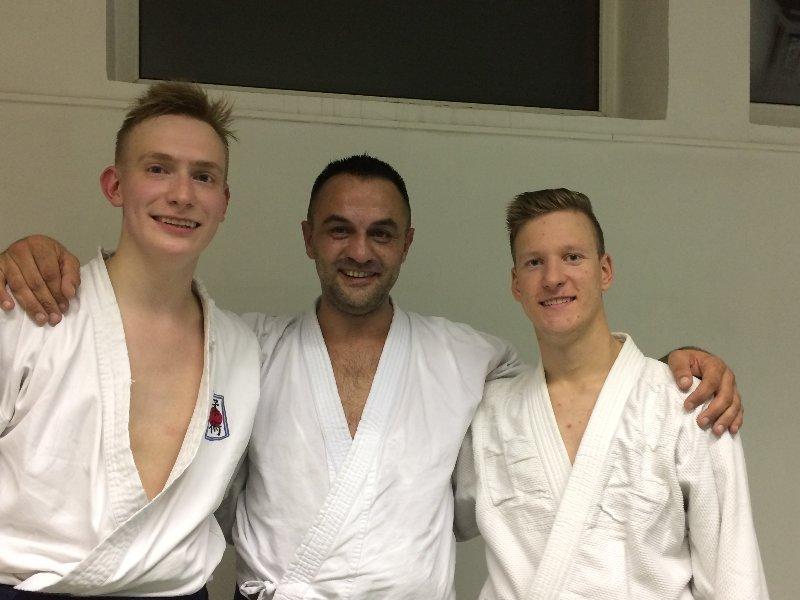 Andrius, Jochen and Martynas