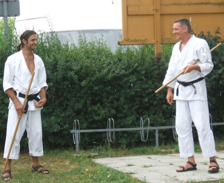 Jochen und Michael in Klardorf