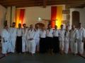 Die Klardorfer Gruppe mit Patrick Sensei