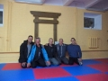 visiting sensei Dalius new dojo