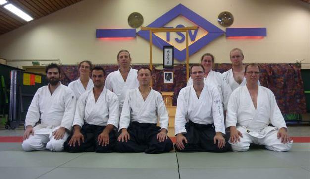 Training mit Peter Heurich 4. Dan am 30. Juli 2009