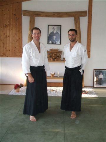 Markus und Jochen Danprüfung 29.11.2009